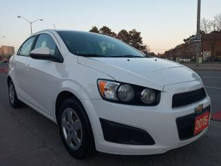 Used 2015 Chevrolet Sonic LS-EXTRA CLEAN-4CYL-BLUETOOTH-AUX-GAS SAVER for sale in Scarborough, ON