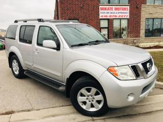 Used 2008 Nissan Pathfinder S - Back Up Camera, Power Sunroof, 7 Passengers for sale in Rexdale, ON