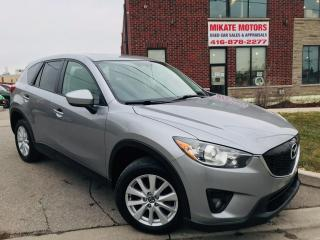 Used 2014 Mazda CX-5 GS - B.UP CAM, B.T., POWER HEATED SEATS, SUNROOF for sale in Rexdale, ON