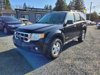 Used 2008 Ford Escape XLT for sale in Black Creek, BC