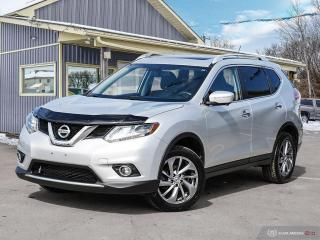 Used 2015 Nissan Rogue SL, AWD, LOW KMS, NAVI, LEATHER INT, PWR TAILGATE for sale in Orillia, ON