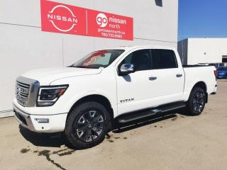 New 2021 Nissan Titan Platinum Reserve for sale in Edmonton, AB