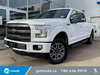 Used 2016 Ford F-150 LARIAT - 502A, FULL LOAD, LEATHER, NAV, SUNROOF, AND MUCH MORE for sale in Edmonton, AB