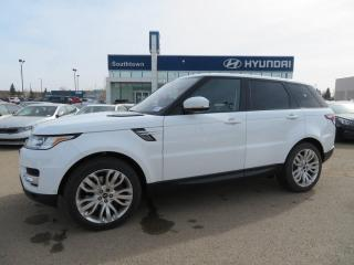 Used 2014 Land Rover Range Rover Sport V8 SUPERCHARGED/MAV/PANO ROOF/LEATHER for sale in Edmonton, AB