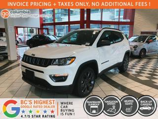 New 2021 Jeep Compass 80th Anniversary for sale in Richmond, BC