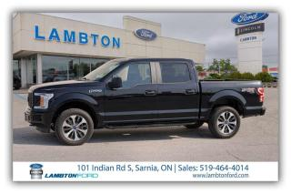 Used 2019 Ford F-150 4 Door Crew Cab Short Bed Truck for sale in Sarnia, ON