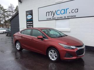 Used 2019 Chevrolet Cruze LT ALLOYS, HEATED SEATS, BACKUP CAM, BLUETOOTH!! for sale in Richmond, ON