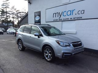 Used 2017 Subaru Forester 2.5i Limited Package LEATHER, PANOROOF, NAV, HEATED SEATS, WOW!! for sale in Richmond, ON