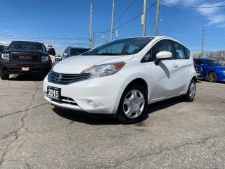Used 2015 Nissan Versa Note SV AUTO HATCH NO ACCIDENT SAFETY B-tooth B-Camera for sale in Oakville, ON