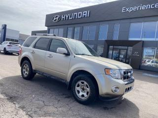 Used 2011 Ford Escape Limited for sale in Charlottetown, PE