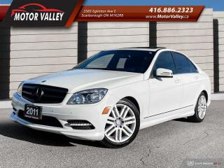 Used 2011 Mercedes-Benz C-Class 4MATIC Only 086,206KM No Accident! for sale in Scarborough, ON
