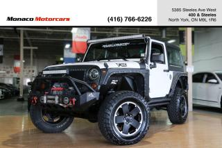 Used 2012 Jeep Wrangler SAHARA ALTITUDE 6-SPEED M/T 4WD for sale in North York, ON