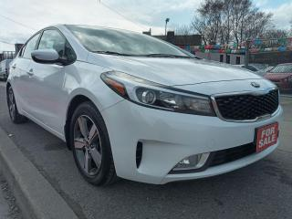 Used 2018 Kia Forte LX-ONLY 53K-BK UP CAM-BLUETOOTH-AUX-USB-ALLOYS for sale in Scarborough, ON