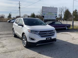 Used 2015 Ford Edge Titanium for sale in Komoka, ON