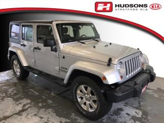 Used 2012 Jeep Wrangler Unlimited Sport Manual Transmission | Upgraded Seats | +Snow Tires for sale in Stratford, ON