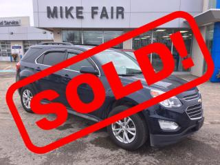 Used 2017 Chevrolet Equinox LT Heated Front Seats, Cruise Control, Remote Keyless Entry, Power Programmable Liftgate for sale in Smiths Falls, ON