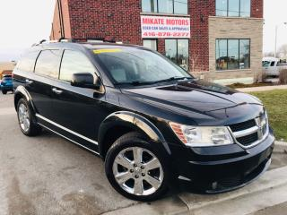Used 2009 Dodge Journey R/T - B.UP CAM, NAV, B.T., POWER LEATHER SEATS for sale in Rexdale, ON