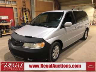 Used 2004 Honda Odyssey EX 4D VAN for sale in Calgary, AB