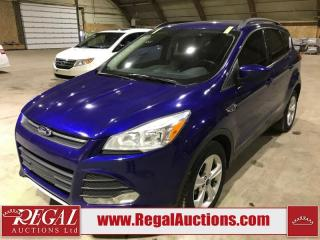 Used 2015 Ford Escape SE 4D Utility 4WD 1.6L for sale in Calgary, AB