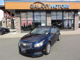 Used 2011 Chevrolet Cruze LS+ - Manual Trans Bluetooth AUX for sale in Courtenay, BC