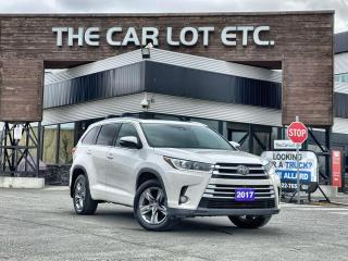 Used 2017 Toyota Highlander Limited AWD!! FULLY LOADED!! SUNROOF! HEATED SEATS/WHEEL!! PARK SENSE!! BACK-UP CAM!! for sale in Sudbury, ON