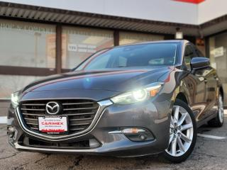 Used 2017 Mazda MAZDA3 GT NAVI | Heated Steering wheel | Heated Seats | Backup Camera for sale in Waterloo, ON