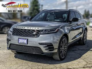 Used 2018 Land Rover Range Rover Velar D180 HSE R-Dynamic VELAR! | R- DYNAMIC! | DIESEL! | ACCIDENT FREE for sale in Bolton, ON