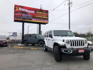 Used 2020 Jeep Wrangler Unlimited for sale in London, ON