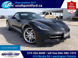 Used 2017 Chevrolet Corvette Stingray Z51 STINGRAY Z51|CONVERTIBLE|NAV|HTD SEATS|BOSE STEREO for sale in Leamington, ON