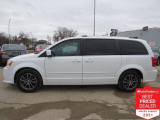 Used 2017 Dodge Grand Caravan SXT Premium Plus - NAV/DVD/Pwr Sliding Doors/Cam for sale in Winnipeg, MB
