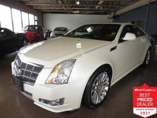 Used 2011 Cadillac CTS 2dr Cpe Performance AWD -  Sunroof/Camera/Leather for sale in Winnipeg, MB
