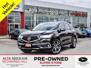 Used 2020 Acura MDX Elite   Navi   DVD   360CAM   Blind Spot   7 Pass for sale in Richmond Hill, ON