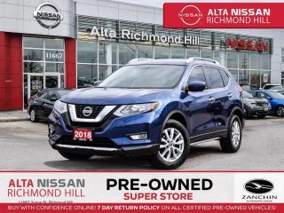 Used 2018 Nissan Rogue SV Tech PKG   360CAM   Navi   BSW   PWR Liftgate for sale in Richmond Hill, ON