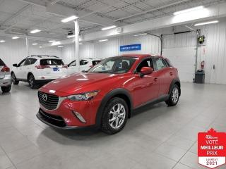 Used 2018 Mazda CX-3 GS - CAMERA + S. CHAUFFANTS + JAMAIS ACCIDENTE !!! for sale in Saint-Eustache, QC
