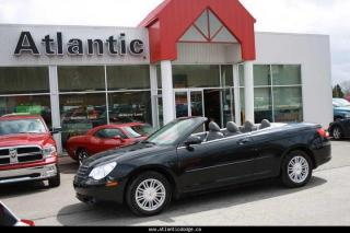 Used 2008 Chrysler Sebring CONVERTIBLE Touring for sale in New Glasgow, NS