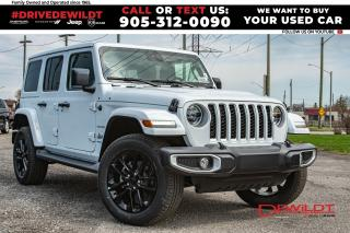 New 2021 Jeep Wrangler 4xe Unlimited Sahara   Adv Safety   Dual Tops for sale in Hamilton, ON