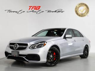 Used 2015 Mercedes-Benz E-Class E63 S AMG I 577HP I NAV I PANO I REAR DVD for sale in Vaughan, ON