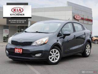 Used 2013 Kia Rio LX Plus 6sp for sale in Kitchener, ON