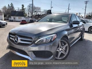 Used 2017 Mercedes-Benz C-Class PANO ROOF  NAVI  AMG APPEARANCE for sale in Ottawa, ON
