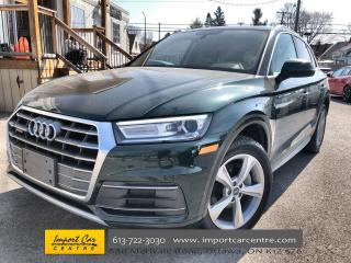 Used 2018 Audi Q5 2.0T Progressiv RARE COLOUR  LEATHER  PANO ROOF  N for sale in Ottawa, ON