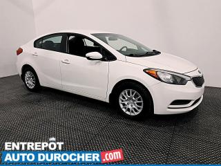 Used 2016 Kia Forte BLUETOOTH - GROUPE ÉLECTRIQUE for sale in Laval, QC