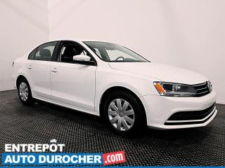 Used 2016 Volkswagen Jetta Sedan MANUELLE - CAMÉRA DE RECUL - CLIMATISEUR for sale in Laval, QC