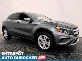 Used 2017 Mercedes-Benz GLA GLA 250 - AWD - NAVIGATION - TOIT OUVRANT for sale in Laval, QC