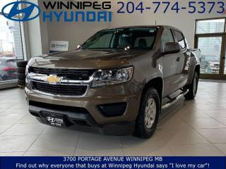 Used 2016 Chevrolet Colorado 2WD WT for sale in Winnipeg, MB