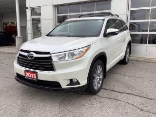 Used 2015 Toyota Highlander AWD 4DR XLE for sale in North Bay, ON