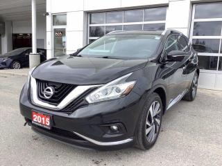 Used 2015 Nissan Murano AWD 4DR PLATINUM for sale in North Bay, ON