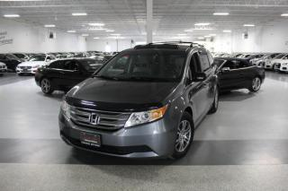 Used 2012 Honda Odyssey EXL I LEATHER I SUNROOF I REAR CAM I HEATED SEATS I DVD I BT for sale in Mississauga, ON