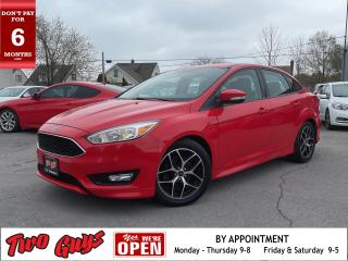 Used 2015 Ford Focus SE | Sunroof | New Tires | Auto | Bluetooth for sale in St Catharines, ON