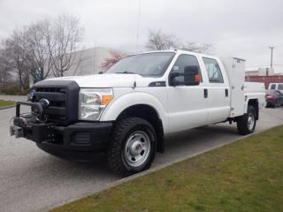 Used 2013 Ford F-350 Crew Cab Service Truck  4WD With Winch for sale in Burnaby, BC