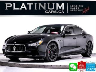 Used 2015 Maserati Ghibli S Q4, 3.0L 400HP, AWD, NAV, CAM, PUSH START for sale in Toronto, ON